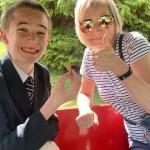 Connor and Jan at Craigtoun