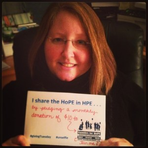 #unselfie #givingTuesday #holoprosencephaly #familiesforhope
