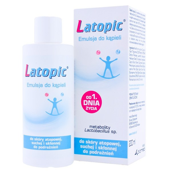 Latopic, emulsja do kąpieli, od urodzenia, 200ml