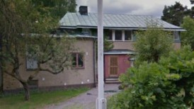 Axel och Ingas villa på Borgnyvägen 3 i Djursholm.