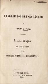 Handbok för brunnsgäster