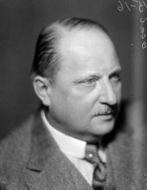 John Alfort. Bilden är tagen i Stockholm av Jan de Meyere någon gång efter 1925. Titel: Porträtt av Alfort.