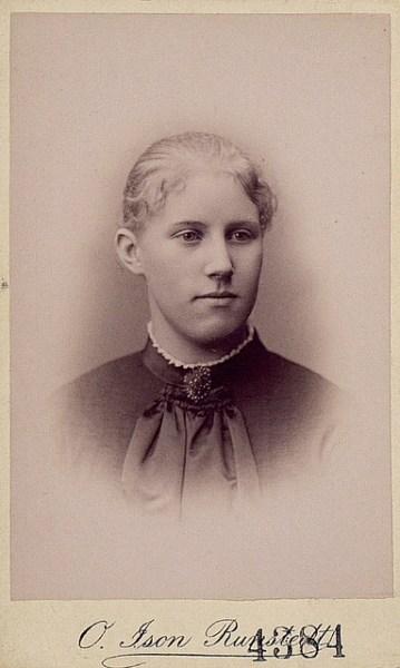 Märta Alfort g. Rydin (1866-1932)