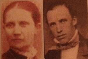 Michaël Alfort och hans fru Marie-Louise f. Bachman.
