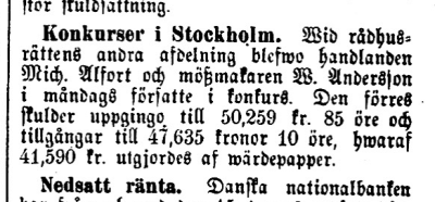 Tidning för Wenersborgs stad och län 24/1 1878.