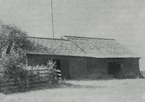 Gamla bodar vid Liljeholmen härstammande från Ringshultstiden. Foto: Nordiska Museet 1943.