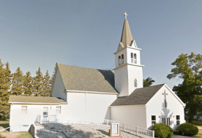 Zion lutheran church i Viking. Källa: Google.