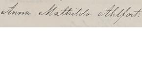[1.2.11.8.3.1] Anna Mathilda Ahlfort