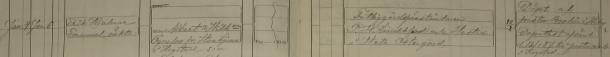 Erik Hjalmar Emanuels dop 1887. Vittnen: Fattiggårdsföreståndaren P. H. Lindblad och Hustru i Heta Östergård. Veta församling.