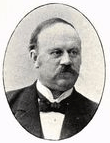 Frans Bæckström senast 1903. Källa: Runeberg.org.