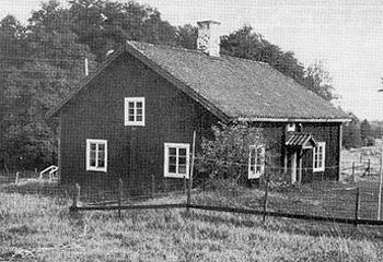Smedbostaden på Börgöls Bruk.