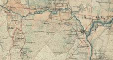 Boarp och Knippe karta