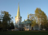 Kyrkan i Jokkmokk.