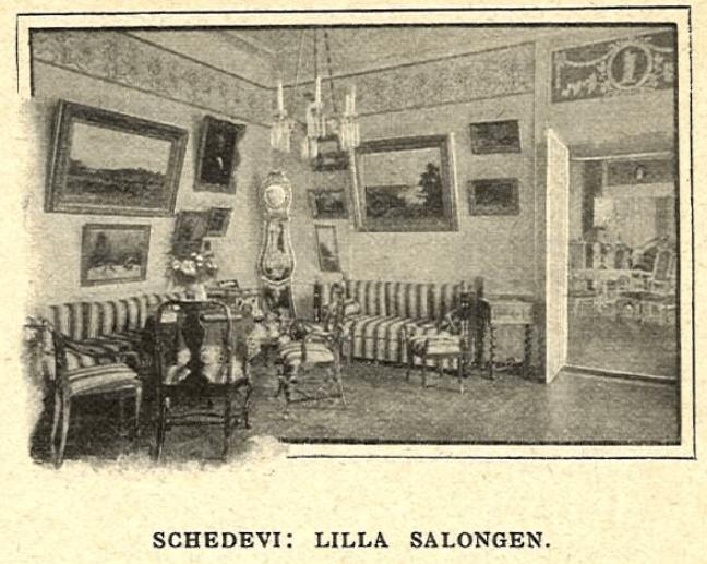 Lilla Salongen på Schedevi.