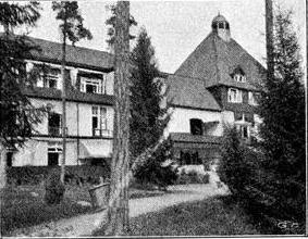 Romanäs Sanatorium. Källa: Vimeo.com.