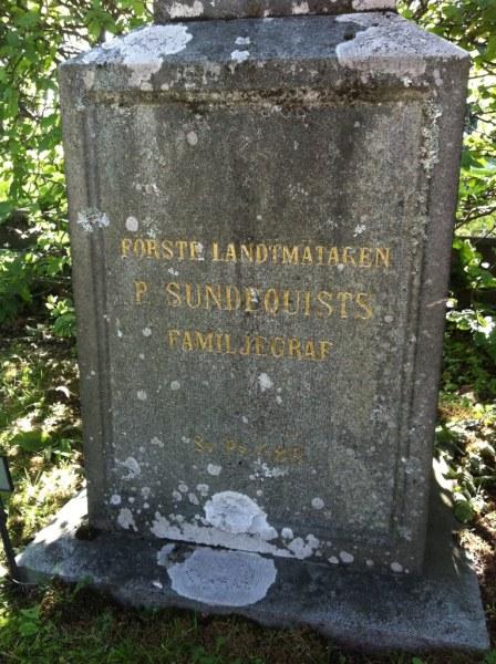 Sundequistska familjegraven i Solna.