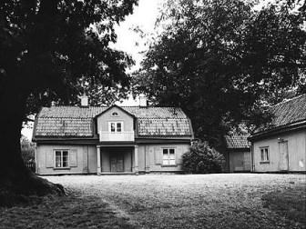 Mörby Kronogård 1972. Stockholms Läns Museum.