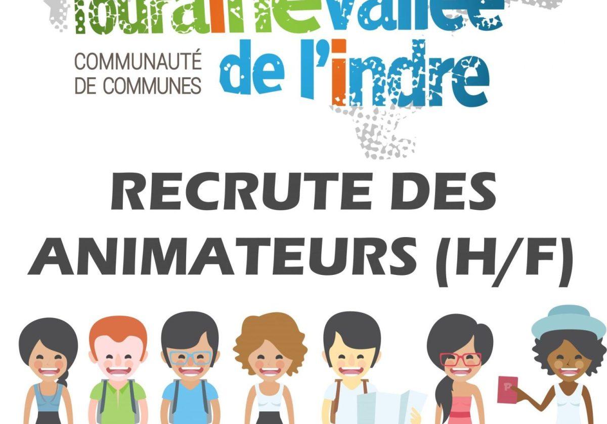 visuel Touraine Vallée de l'Indre recrute des animateurs