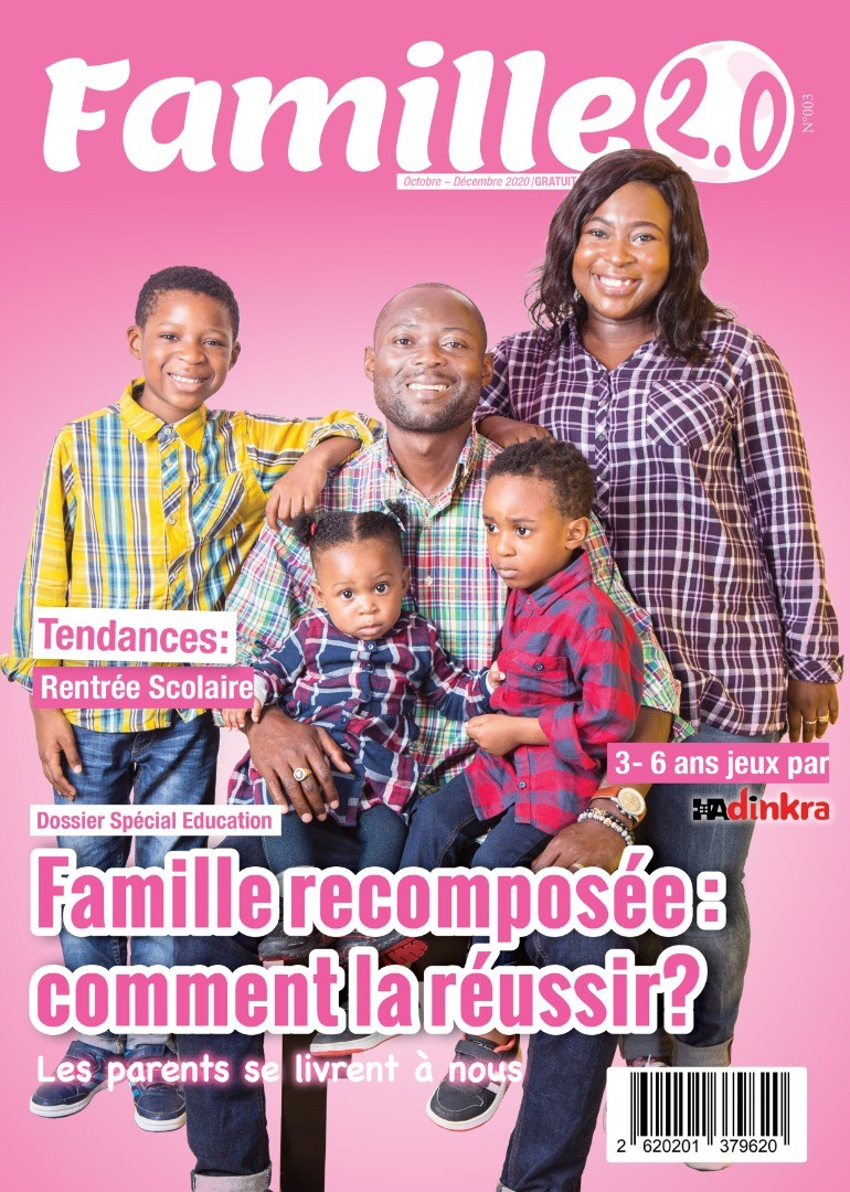 couverture du magazine famille 2.0