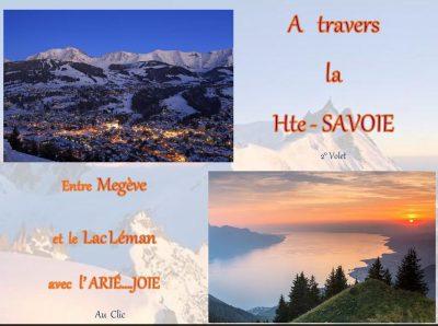 A travers la Haute-Savoie – Entre Megève et le Lac Léman avec l'ARIE…JOIE
