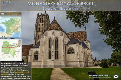 Monastère royal de Brou – Bourg-en-Bresse (Ain)