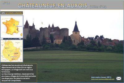 Châteauneuf-en-Auxois (Côte d'Or)