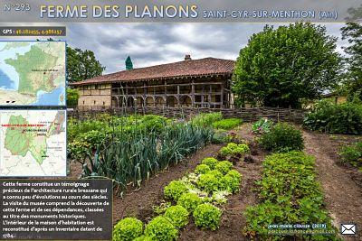Ferme des Planons – Saint-Cyr-de-Menthon  (Ain)