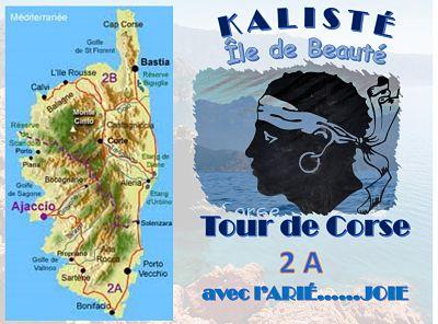 Tour de Corse 2A avec l'ARIÉ…JOIE