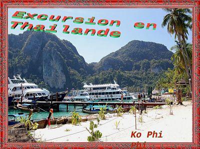 Excursion en Thaïlande