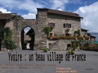 Yvoire – Un beau village de France