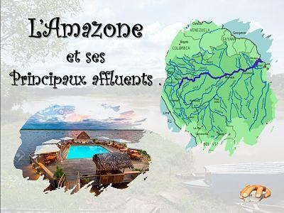 L'Amazone et ses principaux affluents