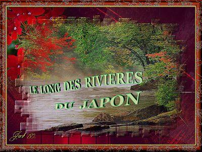 Le long des rivières du Japon