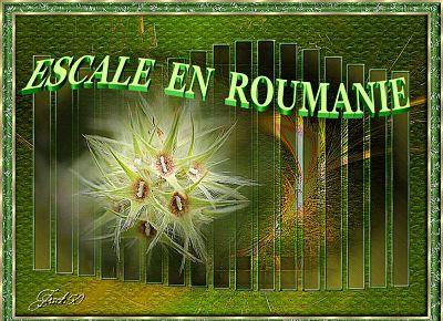 Escale en Roumanie