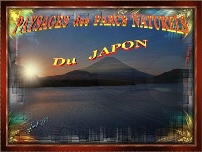 Paysages des Parcs Naturels Japonais