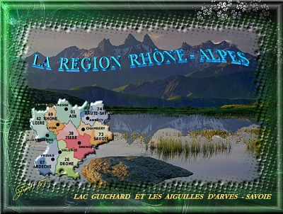 La Région Rhône-Alpes