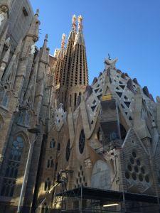 Construction Sagrada Familia