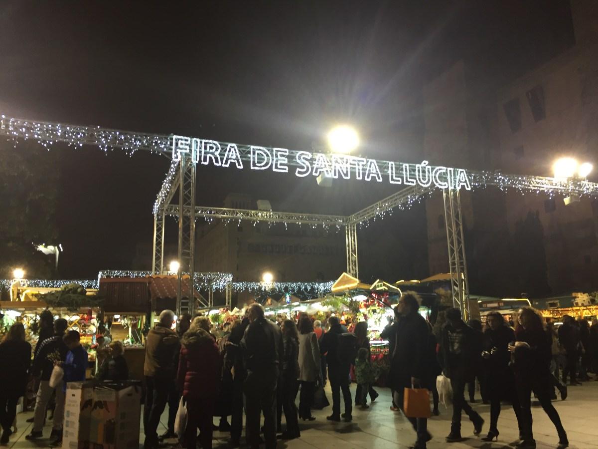 Les festivités de Noël à Barcelone