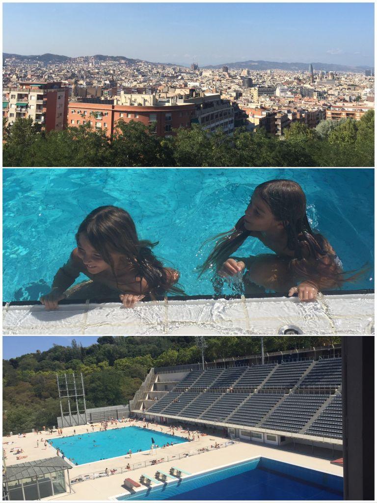 Les meilleures piscines de l'été à Barcelone