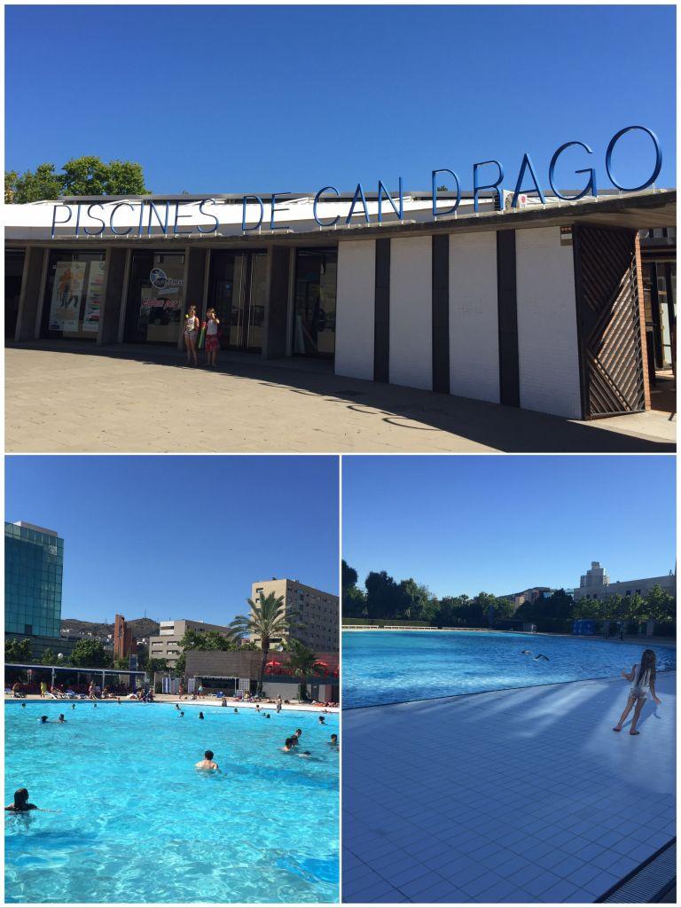 Les meilleures piscines d'été à Barcelone