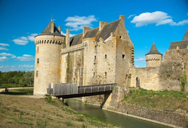 Château de Suscinio dans le Morbihan