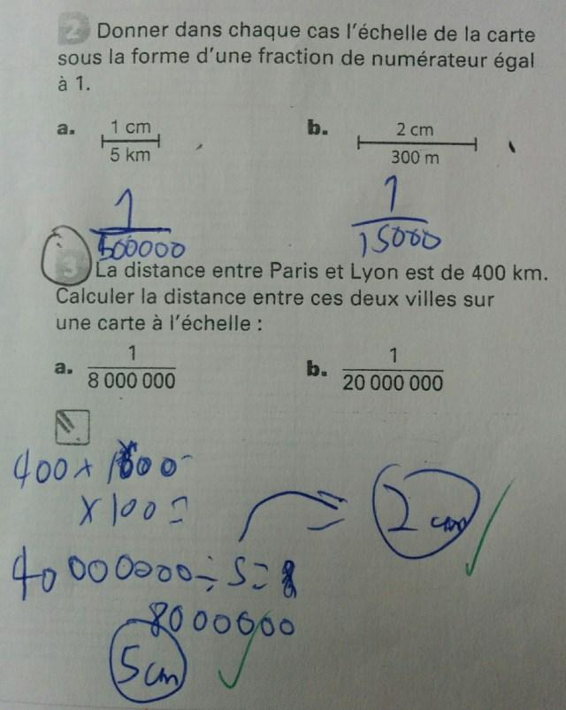 Problème de maths