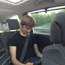 Elliot travelling