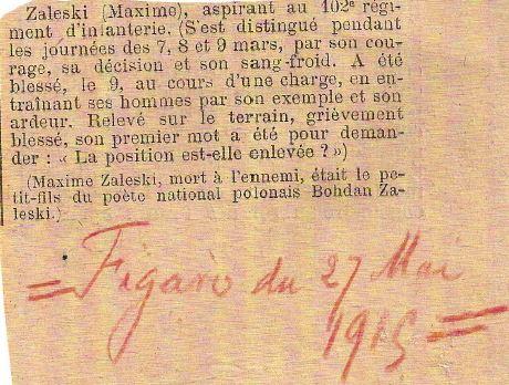 Maxime Zaleski (1/2)
