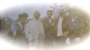 Marie et Denis Zaleski et Félix Okinczyc avec sa femme