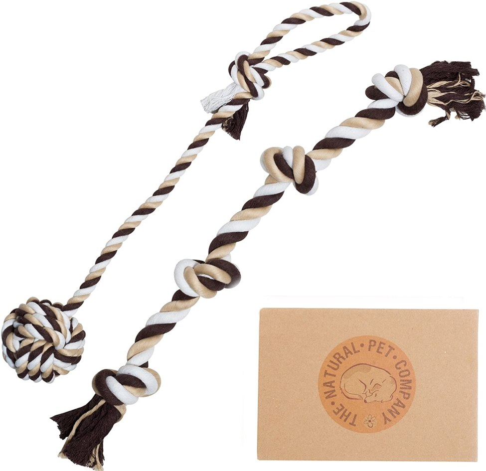 tug of war rope toy for dogs