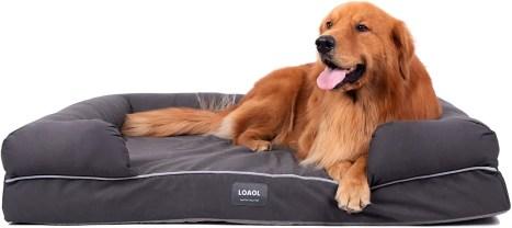 orthopedic dog bed for good sleep