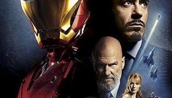Iron Man, starring Robert Downey Jr., Jeff Bridges, Gwyneth Paltrow
