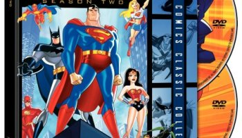 Justice League Unlimited season 2 - Superman, Batman, Wonder Woman