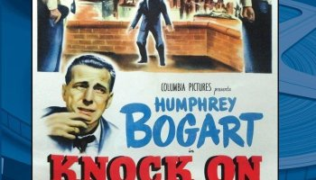 Knock on Any Door (1949), starring Humphrey Bogart and John Derek
