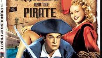 The Princess and the Pirate, starring Bob Hope, Virginia Mayo, Walter Brennan, Walter Slezak